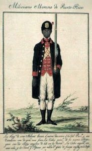 A Black man in a Spanish colonial uniform from the Archivo General de las Indias in my selected list of archives